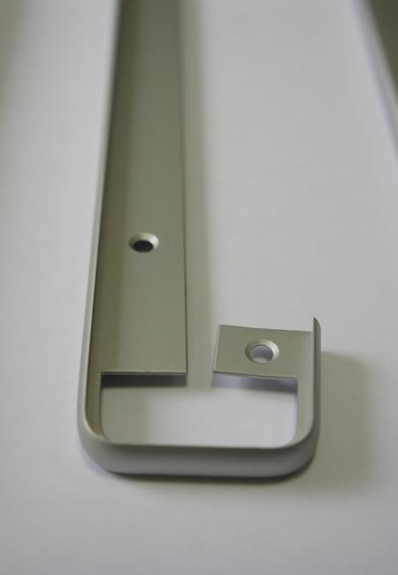 Алюминиевый соединяющий профиль для столешницы